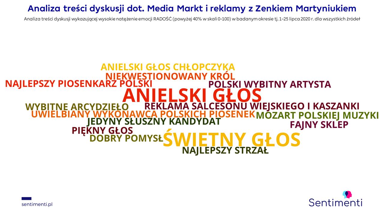 media markt radość sentimenti analiza emocji plutchika koło emocji zona zenka martyniuka analiza mediów