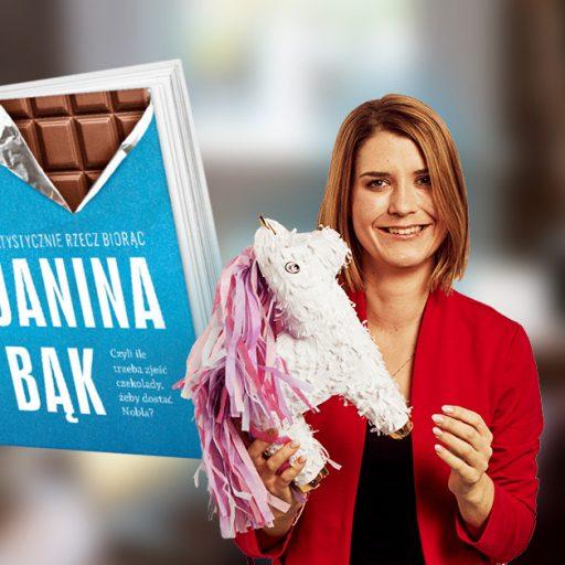 janina bąk statystycznie książka ebook tedx recenzja blog wiek