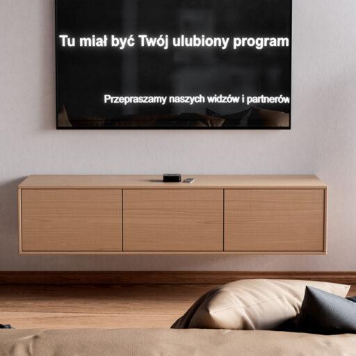 protest mediów analiza sentymentu polityka pis tvp tvn tu miał być twój ulubiony program czarny ekran